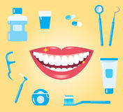 Cuidado dental Fotos de archivo libres de regalías