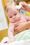 Cuidado do bebê Imagens de Stock Royalty Free