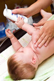 Cuidado do bebê   imagem de stock royalty free