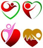 Cuidado do coração ilustração stock