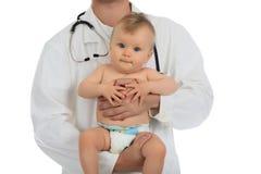 Cuidado do doutor Imagem de Stock Royalty Free