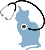 Cuidado do gato ilustração do vetor
