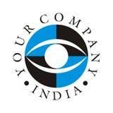 Cuidado do olho/logotipo 2 da clínica Fotografia de Stock