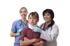 Cuidado espinal médico Foto de archivo libre de regalías
