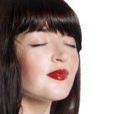 Cuidado hermoso de la cara Girl.Spa.Skin. Imagenes de archivo