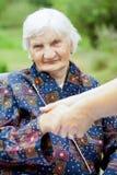 Cuidado idoso Fotos de Stock Royalty Free