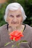 Cuidado idoso Fotografia de Stock Royalty Free