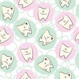 Cuidado inconsútil de los dientes de bebé Fotos de archivo