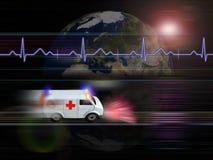 Cuidado médico ilustración del vector