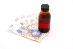 Cuidado médico costoso Imagen de archivo libre de regalías