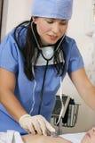 Cuidado paciente Foto de Stock