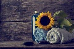 Cuidado para el concepto de la higiene personal Imágenes de archivo libres de regalías