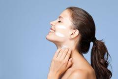 Cuidados com a pele. Imagens de Stock Royalty Free