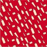 cuidados com a pele do ` s creme lotion balm cópia dos frascos para cosméticos Imagem de Stock Royalty Free