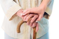 Cuidados domiciliários Imagens de Stock Royalty Free