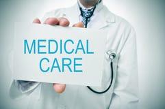 Cuidados médicos Foto de Stock