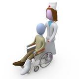 Cuidados médicos Imagem de Stock Royalty Free