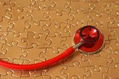 Cuidados médicos conectados Foto de Stock