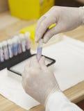 Cuidados médicos da medicina do teste de laboratório Fotografia de Stock