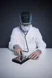 Cuidados médicos do disco rígido Fotos de Stock Royalty Free
