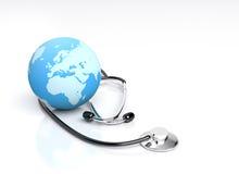 Cuidados médicos globais Fotografia de Stock
