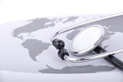 Cuidados médicos globais Foto de Stock Royalty Free