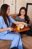 Cuidados médicos home Fotografia de Stock