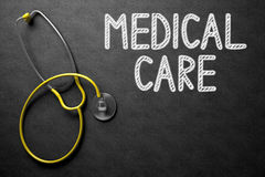 Cuidados médicos no quadro ilustração 3D Imagem de Stock Royalty Free