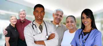 Cuidados médicos superiores Fotos de Stock Royalty Free