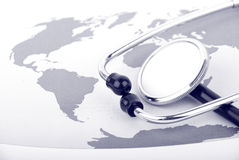 Cuidados médicos globais Imagens de Stock Royalty Free