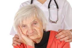 Cuidados médicos superiores Imagem de Stock
