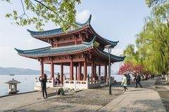 Cuiguang pavilion Royalty Free Stock Image