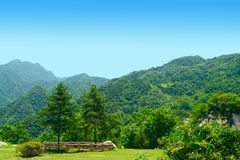 Cuihua mountain royalty free stock image