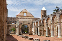Cuilapam de Guerrero (Oaxaca/Mexico), Ex-monastery of Santiago A Royalty Free Stock Images