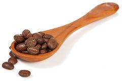 Cuillère de Cofee Images stock