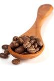 Cuillère de Cofee Photo libre de droits