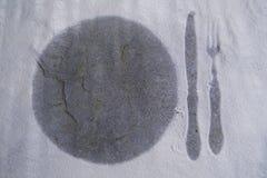 Cuillère de couteau de fourchette illustration libre de droits