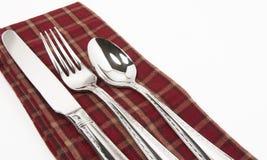 Cuillère de fourchette de couteau Images stock