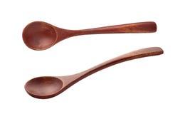 cuillère en bois Image stock