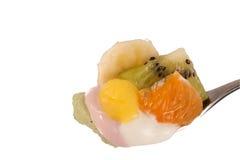 Cuillère superbe de fruit Images stock