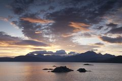 Cuillin Hills, Isle of Skye Royalty Free Stock Photo
