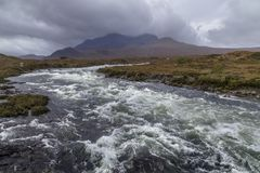 Cuillin Hills -  Isle of Skye - Scotland Stock Photo