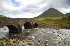 Cuillin mountain on the isle of skye Stock Image