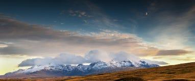 Cuillin Ridge Skye Fotografie Stock