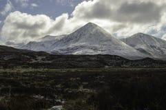 Cuillin rosso sull'isola di Skye Fotografia Stock Libera da Diritti