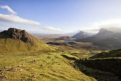 Cuillin,skye of isle,scotland Stock Image