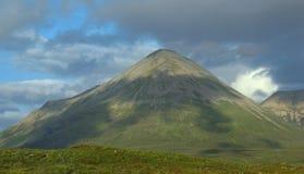 Cuillin wzgórza, wyspa Skye, Wewnętrzny Hebrides, zachodnie wybrzeże, Szkocja, Zjednoczone Królestwo, Europa zdjęcia royalty free