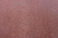 Cuir abstrait de couleur rouge Photographie stock libre de droits