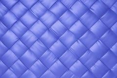 Cuir bleu photographie stock