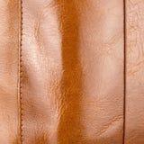 Cuir brillant brun clair luxueux avec des points culminants, gradients a photos libres de droits